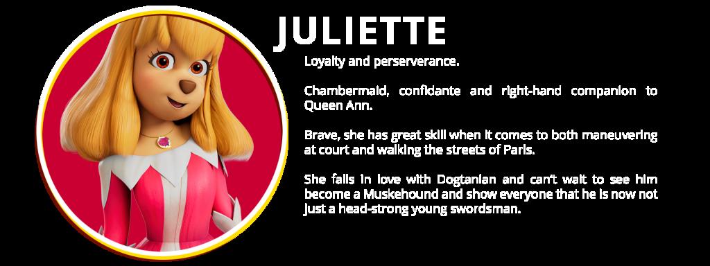 CHARACTER 03 JULIETTE